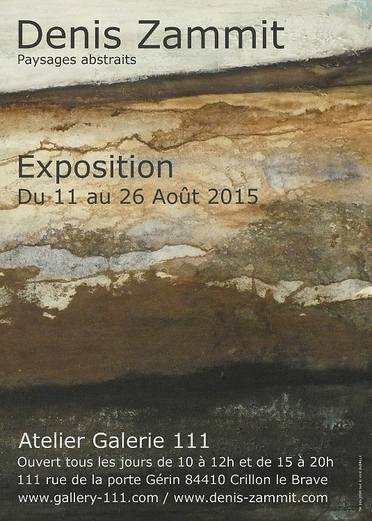 "Exposition ""Paysages abstraits"""